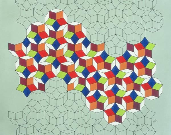 Blending Painting - Penrose's Conundrum by Peter Hugo McClure