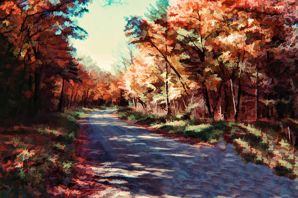 Painting - Pensylvania Autumn 007 by Dean Wittle
