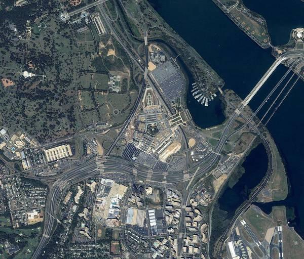 September 11 Attacks Photograph - Pentagon Terrorist Attack by Geoeye