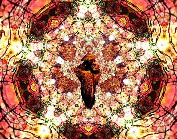 Essence Digital Art - Pentagrammathanatos Severe Beauty by Aeres Vistaas