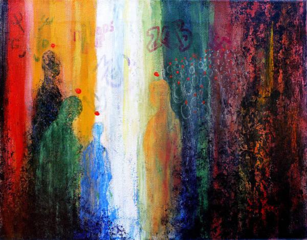 Scriptural Painting - Pentecost by Jim Whalen