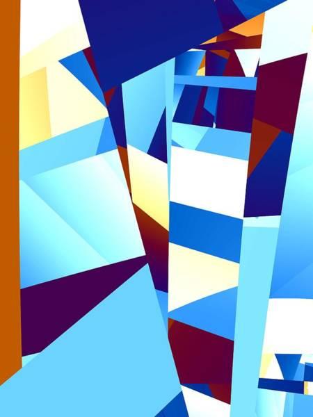 Elation Digital Art - Penthouse by Kenneth Keller