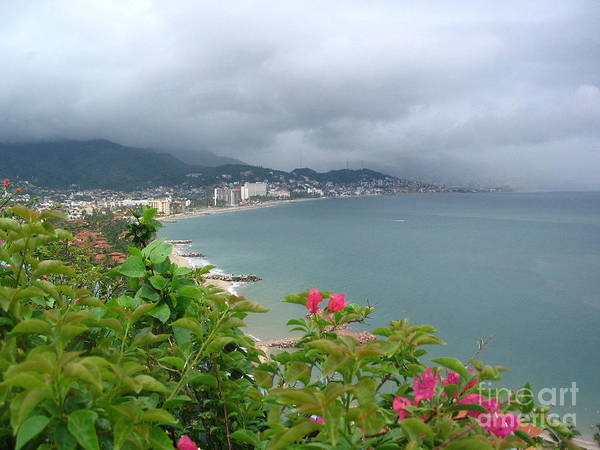 Penthouse View - Puerto Vallarta Art Print
