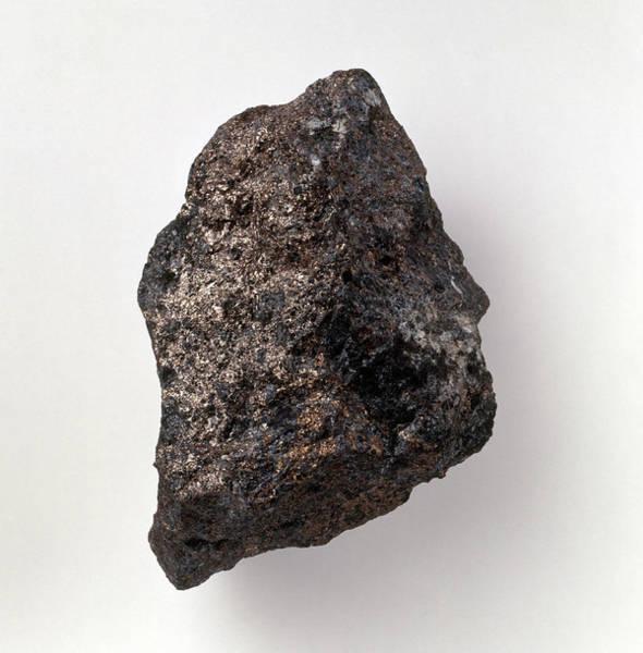 Geological Photograph - Pentlandite by Dorling Kindersley/uig
