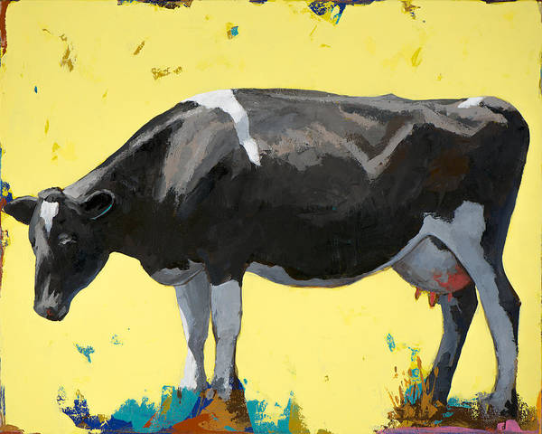 Cows Wall Art - Painting - People Like Cows #12 by David Palmer