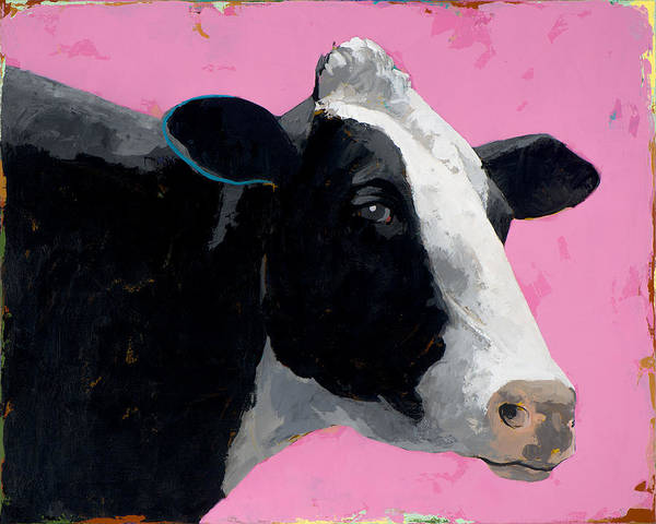 Cows Wall Art - Painting - People Like Cows #13 by David Palmer