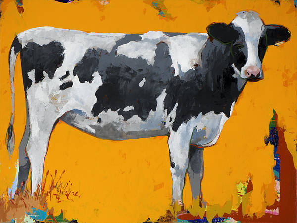 Cows Wall Art - Painting - People Like Cows #16 by David Palmer