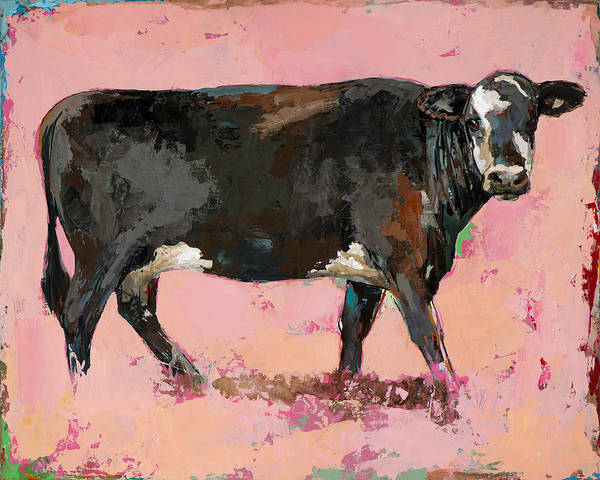 Cows Wall Art - Painting - People Like Cows #2 by David Palmer