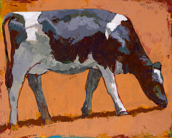 Farm Painting - People Like Cows #4 by David Palmer