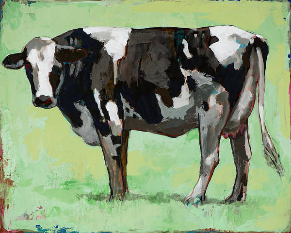 Cows Wall Art - Painting - People Like Cows #5 by David Palmer