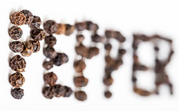 Photograph - Peppercorns by Gary Gillette