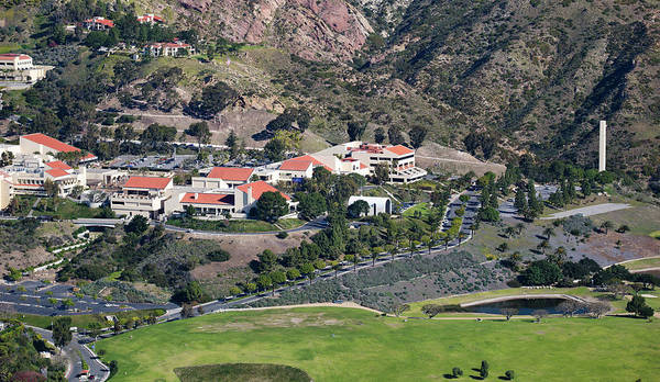 Wall Art - Photograph - Pepperdine University On A Hill by Panoramic Images