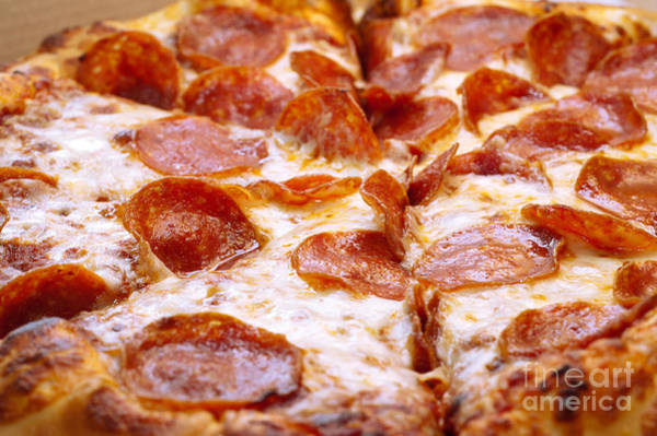 Andee Photograph - Pepperoni Pizza 1 - Pizzeria - Pizza Shoppe by Andee Design