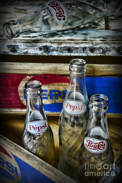 Wall Art - Photograph - Pepsi Bottles And Crates by Paul Ward