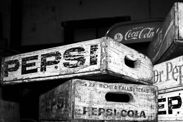 Photograph - Pepsi Dr Pepper And Coca-cola by Andy Crawford