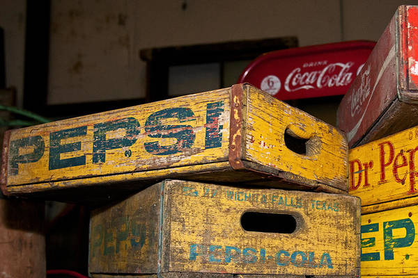 Photograph - Pepsi Dr Pepper And Coca-cola II by Andy Crawford