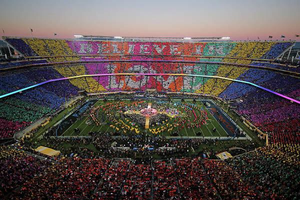 Super Sport Photograph - Pepsi Super Bowl 50 Halftime Show by Ezra Shaw