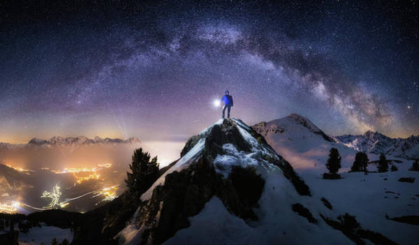Mountain Peak Wall Art - Photograph - Per Aspera Ad Astra by Dr. Nicholas Roemmelt
