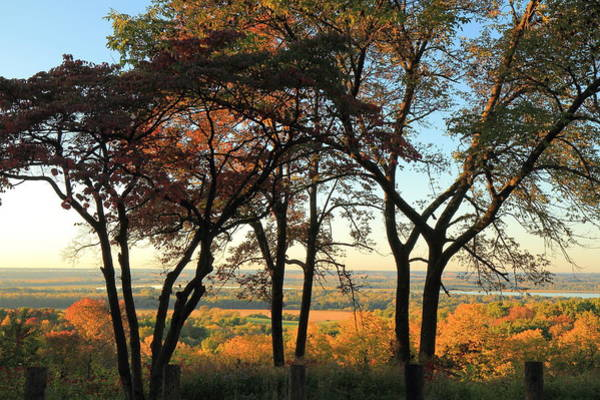 Marquette Photograph - Pere Marquette State Park by Scott Rackers