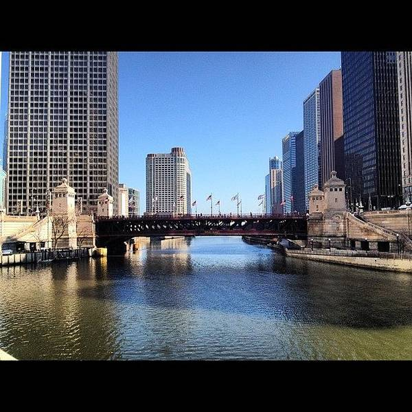 Wall Art - Photograph - Perfect Day In Chicago! by Mike Maher