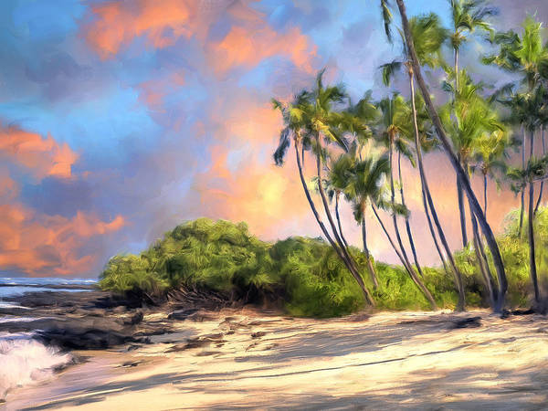 Kona Painting - Perfect Moment by Dominic Piperata