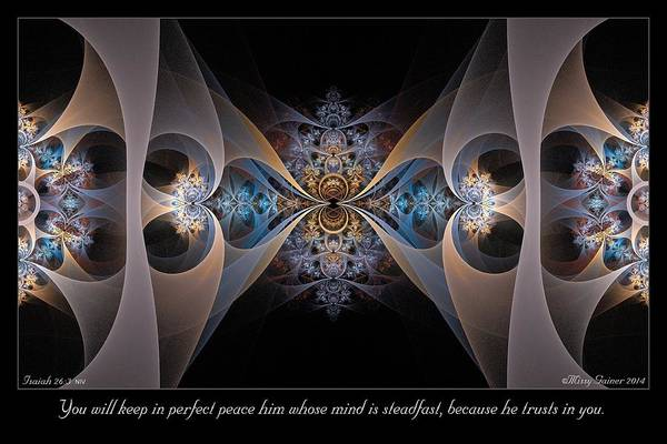 Digital Art - Perfect Peace by Missy Gainer
