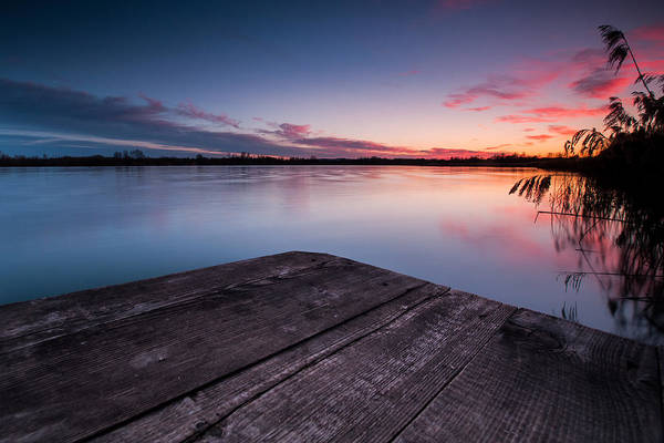 Lake Sunset Photograph - Perfect Place by Davorin Mance