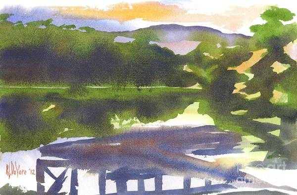 Painting - Perfectly Still by Kip DeVore