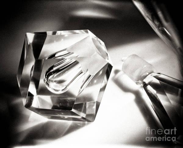 Photograph - Art Deco Perfume Bottle by Hans Janssen