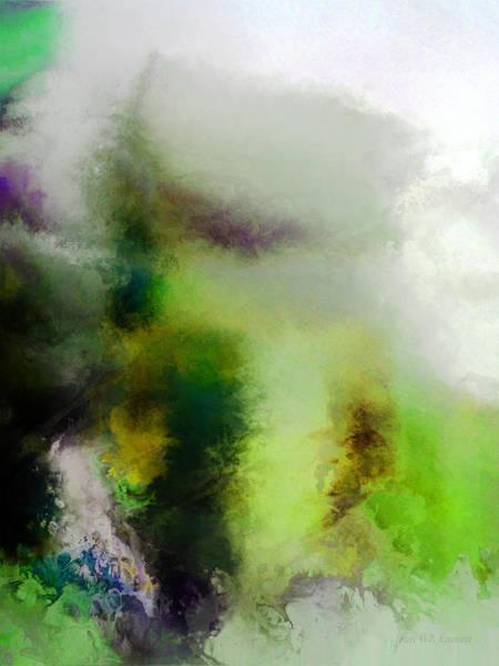 Painting - perilous realm I by John WR Emmett
