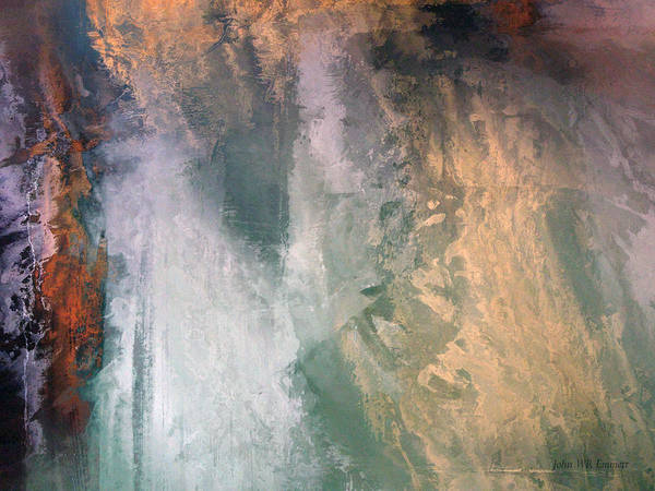 Painting - perilous realm IV by John WR Emmett