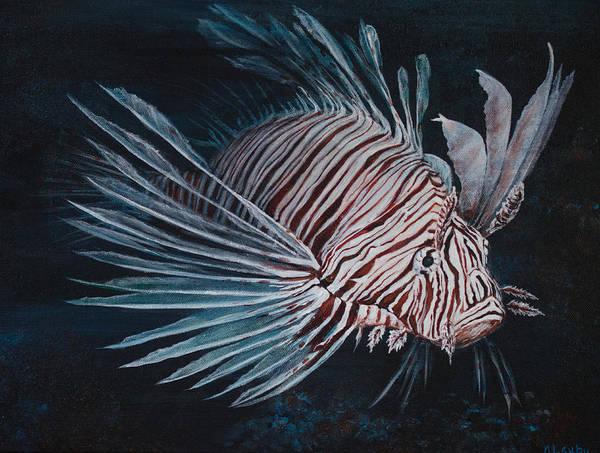 Painting - Perilous Splendor by Nancy Lauby