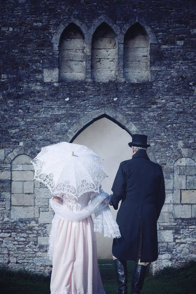 Period Wall Art - Photograph - Period Couple by Joana Kruse