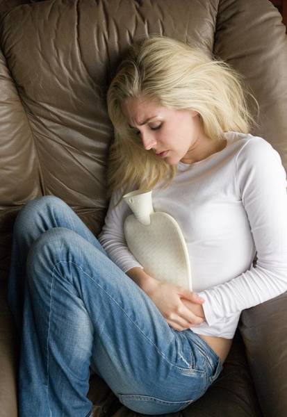 Period Photograph - Period Pain by Suzanne Grala/science Photo Library