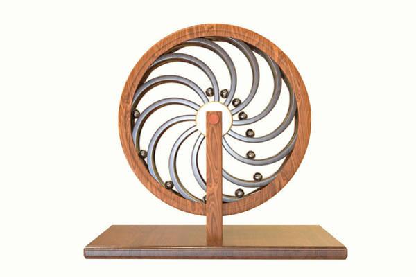 Perpetual Photograph - Perpetual Motion Machine Of Leonardo Da Vinci by Kateryna Kon/science Photo Library