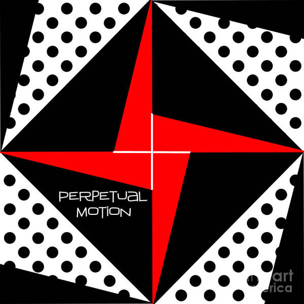 Quilt Digital Art - Perpetual Motion by Methune Hively