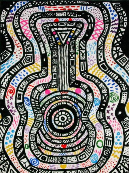 Mojo Painting - Perpetual Tunes by CeeCee Awesomeness