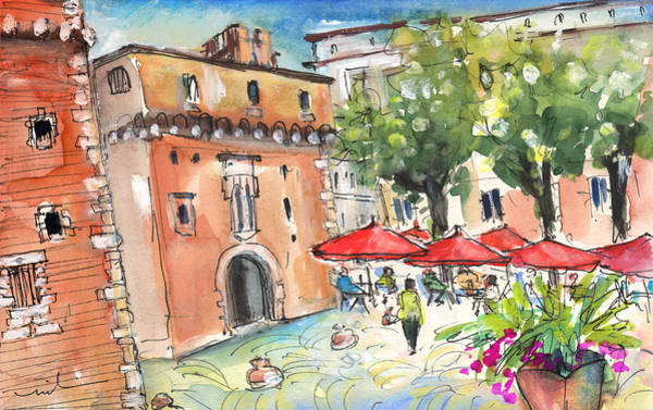 Painting - Perpignan 02 by Miki De Goodaboom