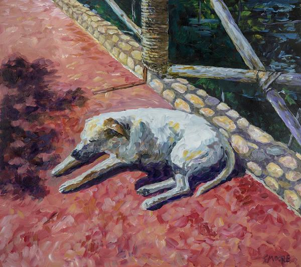 Painting - Perro by Susan Moore