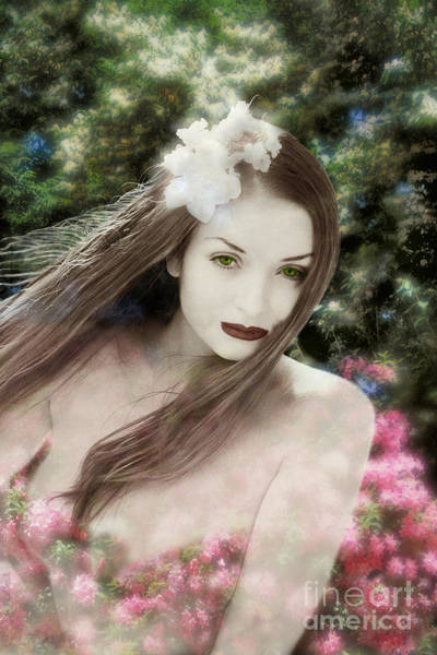 Kora Wall Art - Photograph - Persephone - Spring Welcome - From The Enchanted Garden Series. by Renata Ratajczyk