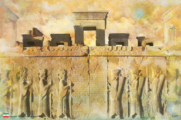 Wall Art - Painting - Persepolis  by Catf