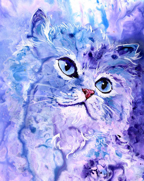 Painting - Persian Blue by Sherry Shipley
