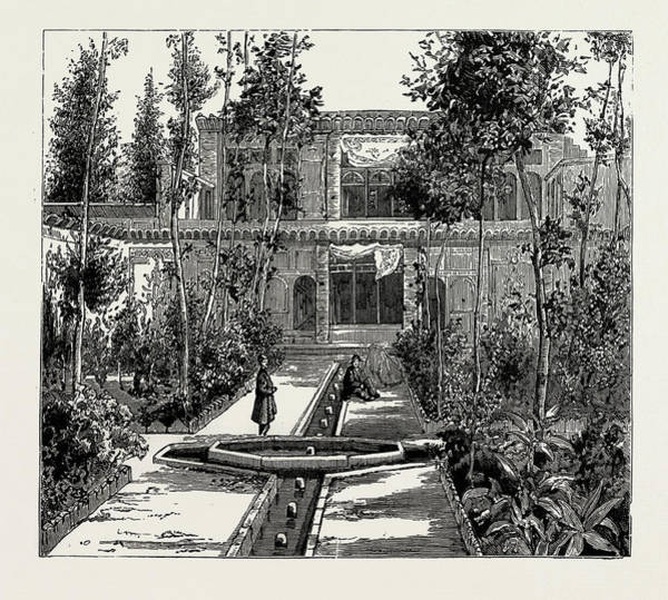Wall Art - Drawing - Persian House, Old Style by Litz Collection