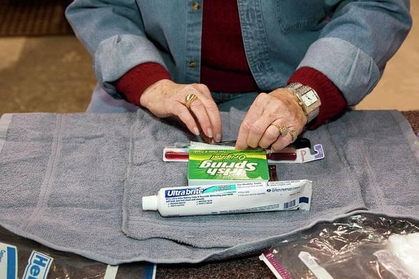 Methodist Photograph - Personal Hygiene Kit by Jim West