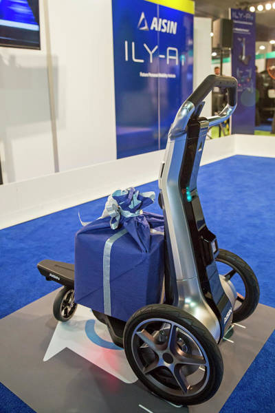 Detroit Auto Show Photograph - Personal Mobility Vehicle by Jim West/science Photo Library