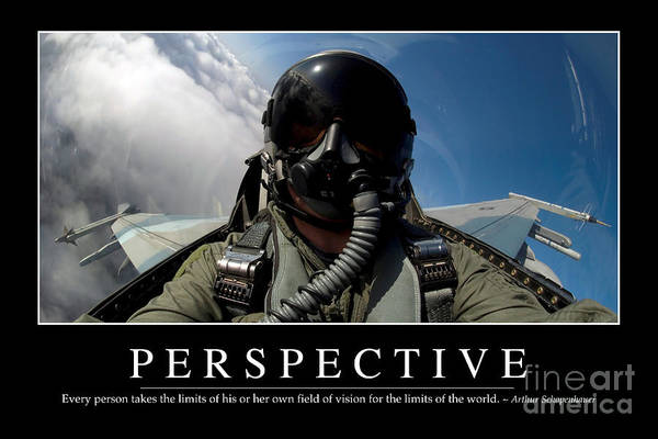 Photograph - Perspective Inspirational Quote by Stocktrek Images