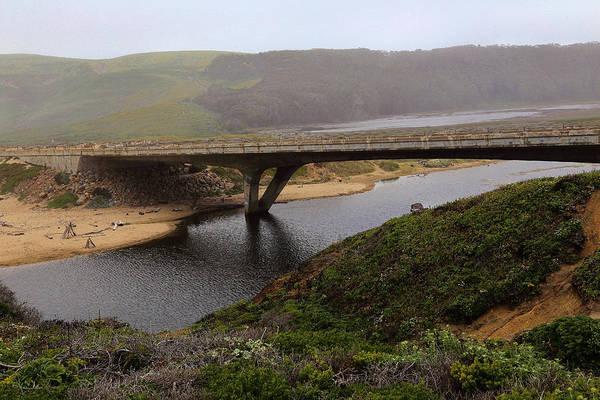 San Mateo Bridge Wall Art - Photograph - Pescadero Bridge by Viktor Savchenko