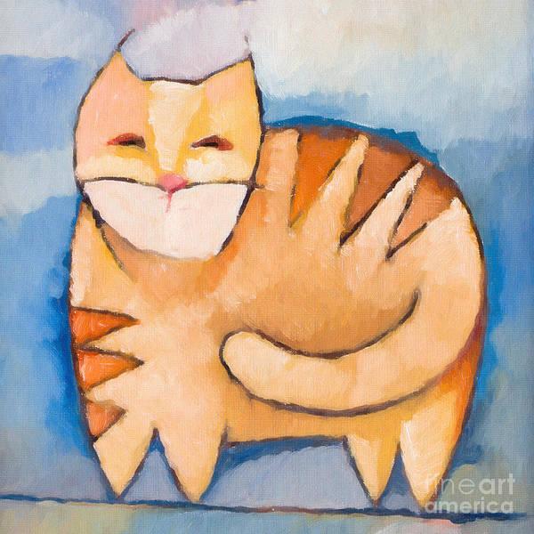 Painting - Pet Tiger by Lutz Baar
