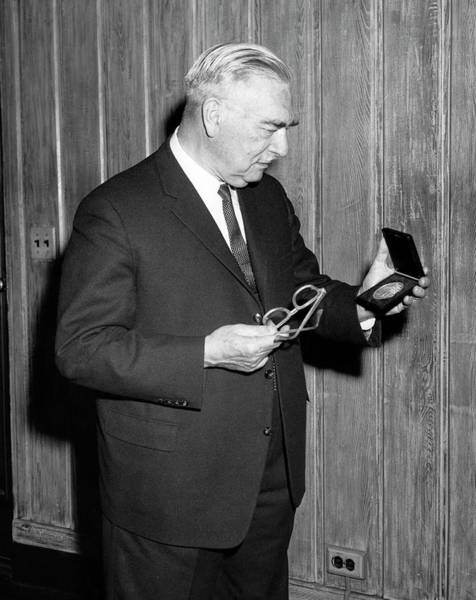 Nobel Prize Laureate Photograph - Peter Debye by Chemical Heritage Foundation
