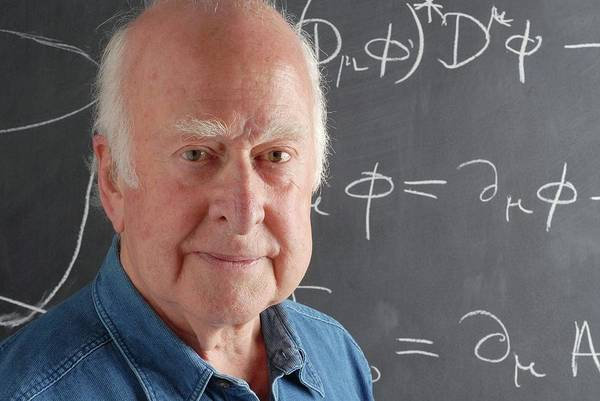 Wall Art - Photograph - Peter Higgs by Peter Tuffy, University Of Edinburgh/science Photo Library